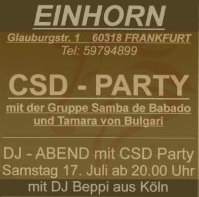 Bepp at Einhorn