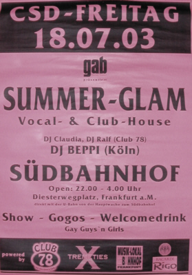 Beppi at Summerglam