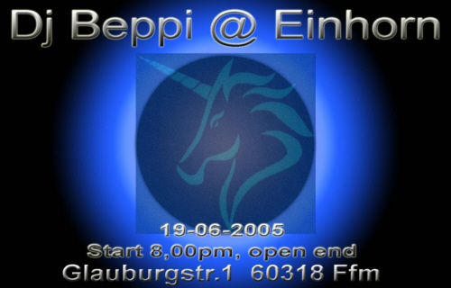 Beppi at Einhorn